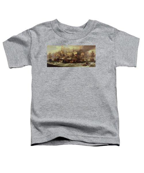 Battle Of Cape St Vincent Toddler T-Shirt