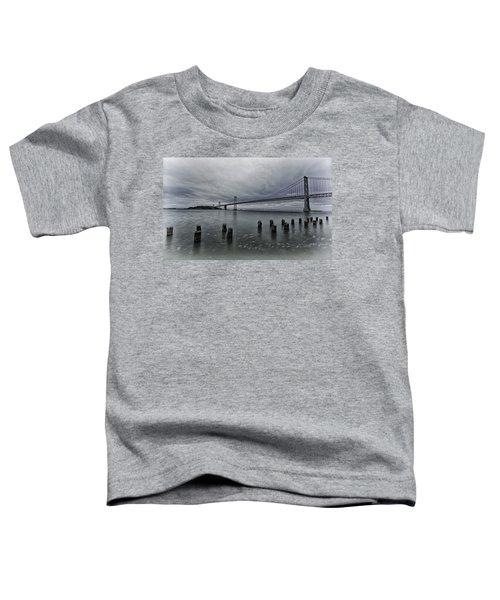 Bay Bridge Toddler T-Shirt