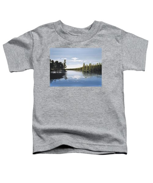 Bay On Lake Muskoka Toddler T-Shirt