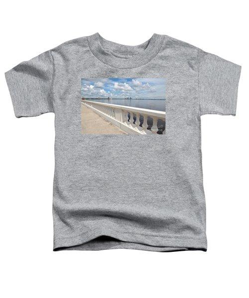 Bayshore Boulevard Balustrade Toddler T-Shirt