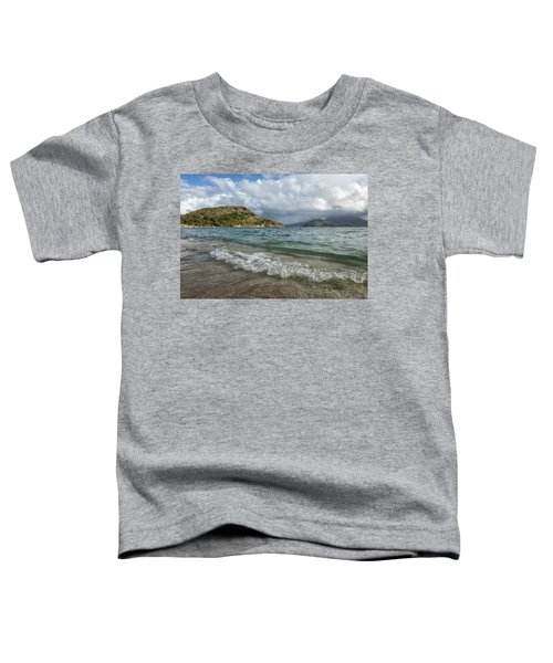 Beach At St. Kitts Toddler T-Shirt