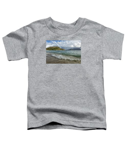 Beach At St. Kitts Toddler T-Shirt
