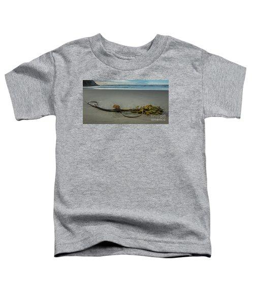 Beach Bull Kelp Laying Solo Toddler T-Shirt