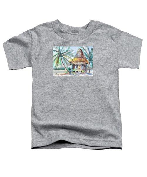 Beach Bungalow Toddler T-Shirt