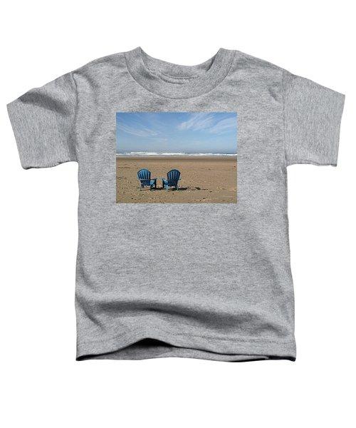 Beach Chair Pair Toddler T-Shirt