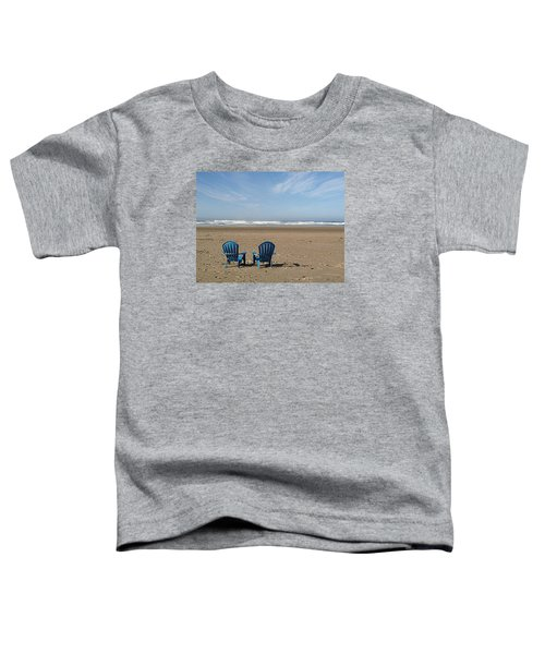 Beach Chair Pair Toddler T-Shirt