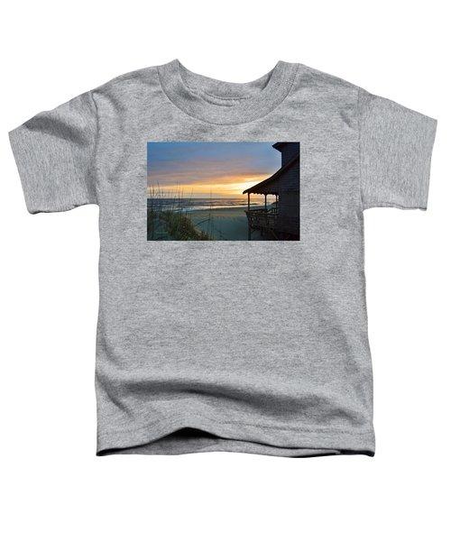 Beach Cottage Sunrise  Toddler T-Shirt