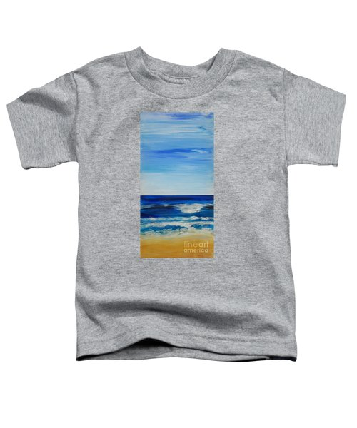 Beach Ocean Sky Toddler T-Shirt