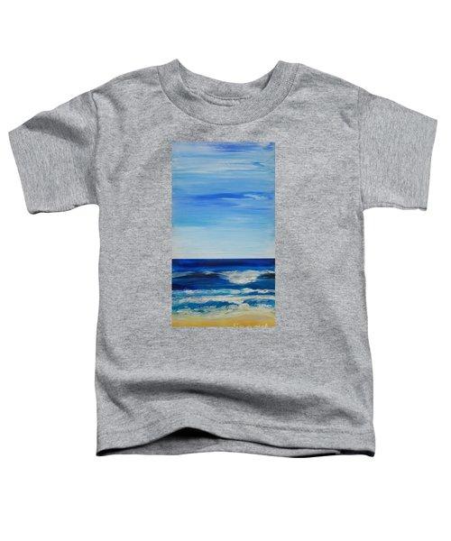 Beach Ocean Sky Toddler T-Shirt