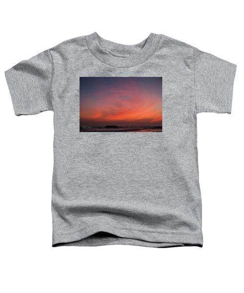 Beach Sky Blaze Toddler T-Shirt