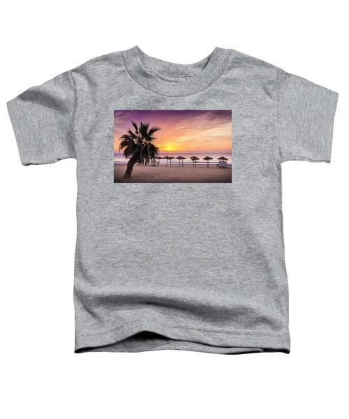 Beach Sunrise. Toddler T-Shirt