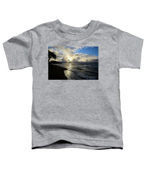 Beachy Morning Toddler T-Shirt