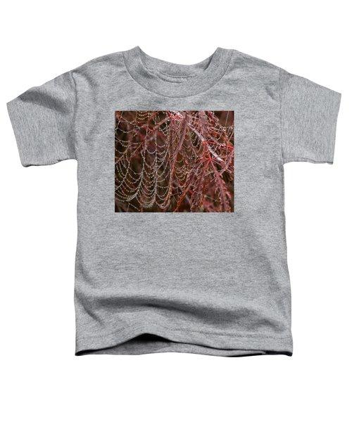 Beads Of Raindrops Toddler T-Shirt