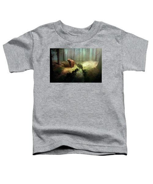 Bear Mountain Fantasy Toddler T-Shirt