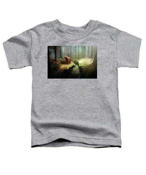 Bear Mountain Fantasy Toddler T-Shirt