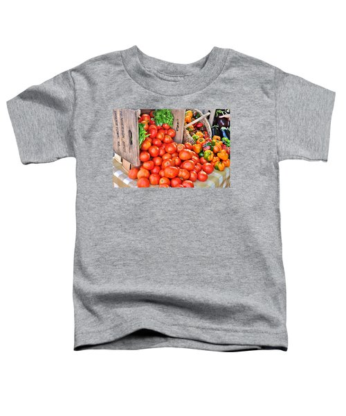 The Bountiful Harvest At The Farmer's Market Toddler T-Shirt