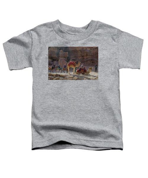 Bedouin Tribesmen, Petra Jordan Toddler T-Shirt