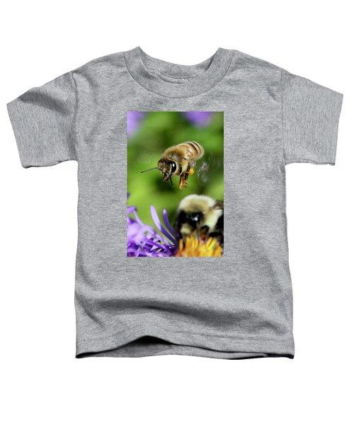 Bee In Flight  Toddler T-Shirt