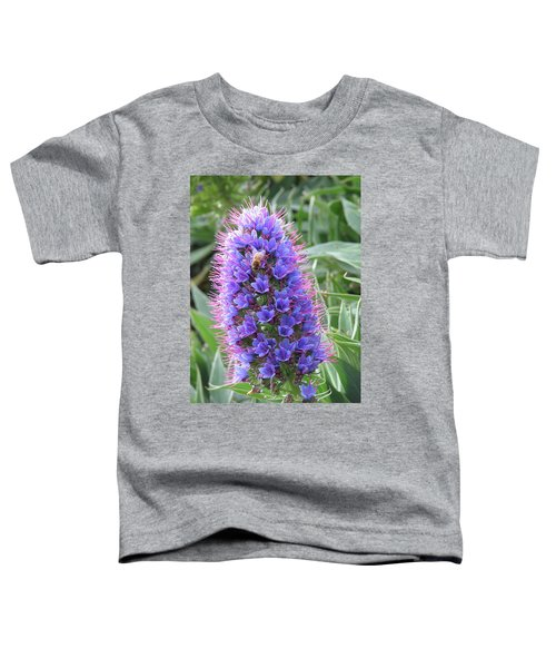 Bee On Blue Toddler T-Shirt