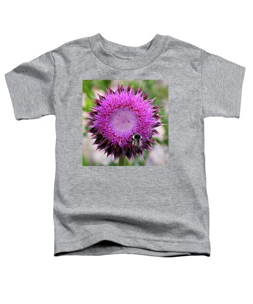 Bee On Thistle Toddler T-Shirt