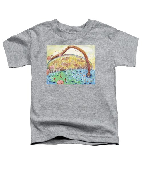 Bee's Eye And Antenna Toddler T-Shirt