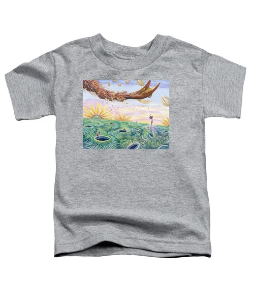 Bee's Foot Toddler T-Shirt