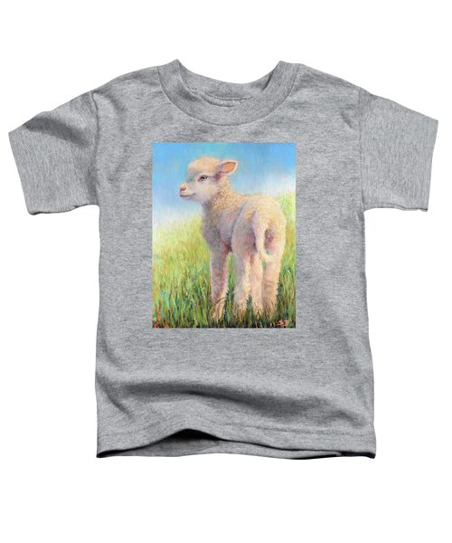 Behold The Lamb Toddler T-Shirt