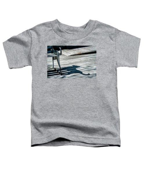 Bench Shadow Toddler T-Shirt