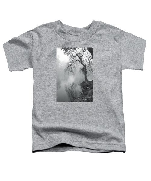 Toddler T-Shirt featuring the photograph Bent With Gentleness And Time by Linda Lees