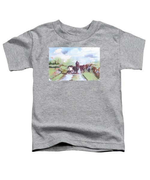 Bernie On The Road Toddler T-Shirt