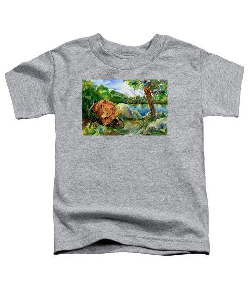 Between A Rock And Hardplace Toddler T-Shirt