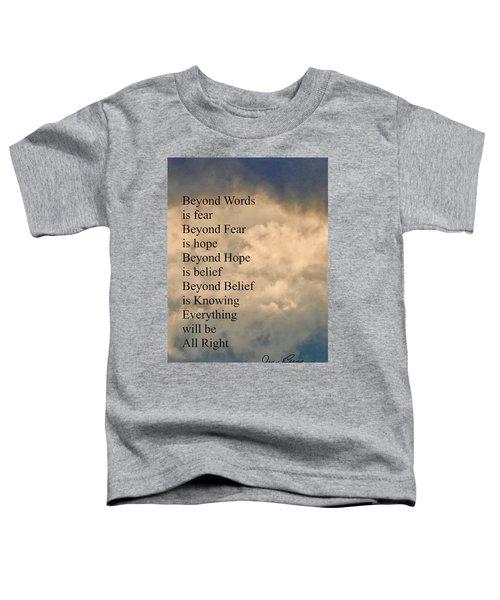 Beyond Words Toddler T-Shirt