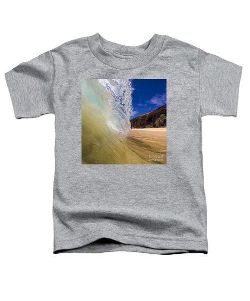 Big Beach Maui Shore Break Wave Toddler T-Shirt