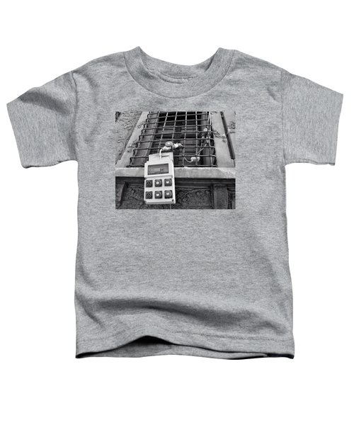 Big Buttons Toddler T-Shirt