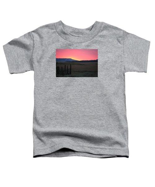 Big Horn Sunrise Toddler T-Shirt