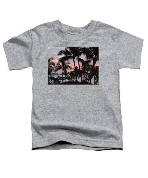 Big Island Sunset 2 Toddler T-Shirt
