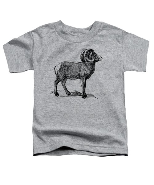 Bighorn Sheep  Toddler T-Shirt