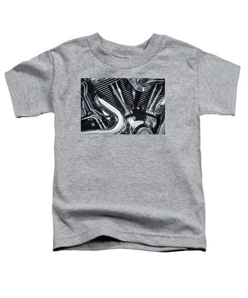 Bike Chrome Toddler T-Shirt