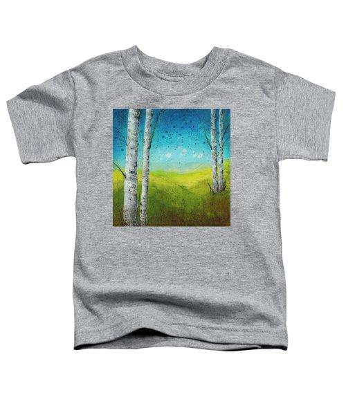 Birches In Green Toddler T-Shirt