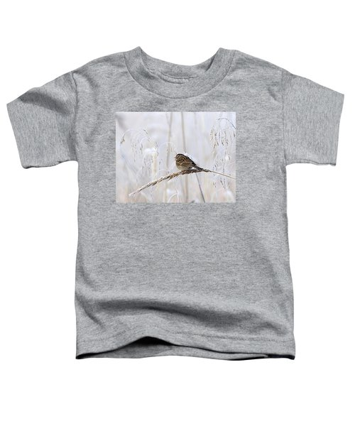 Bird In First Frost Toddler T-Shirt