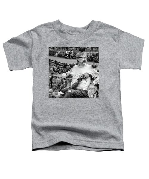 Toddler T-Shirt featuring the photograph Birdman Of Wsp by Eric Lake