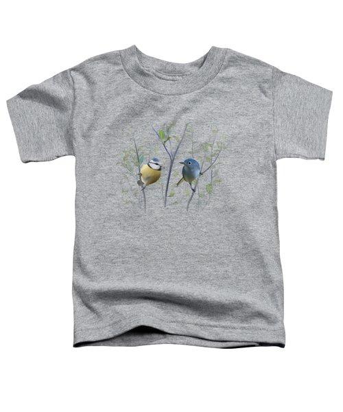 Birds In Tree Toddler T-Shirt