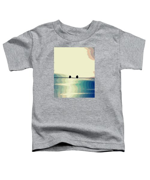 Birds On A Wire Toddler T-Shirt