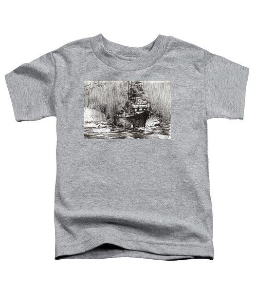 Bismarck Off Greenland Toddler T-Shirt