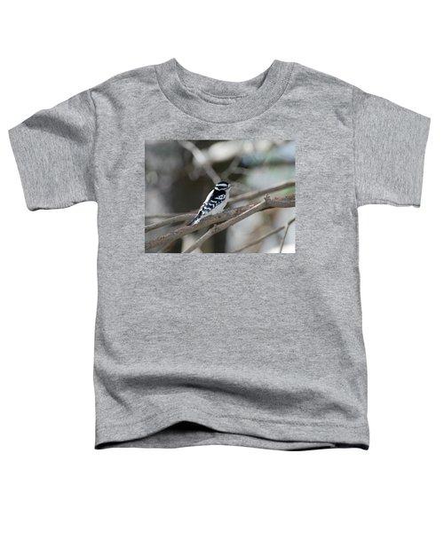 Black And White Bird Toddler T-Shirt