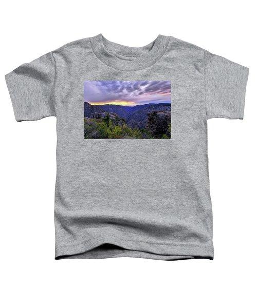 Black Canyon Sunset Toddler T-Shirt