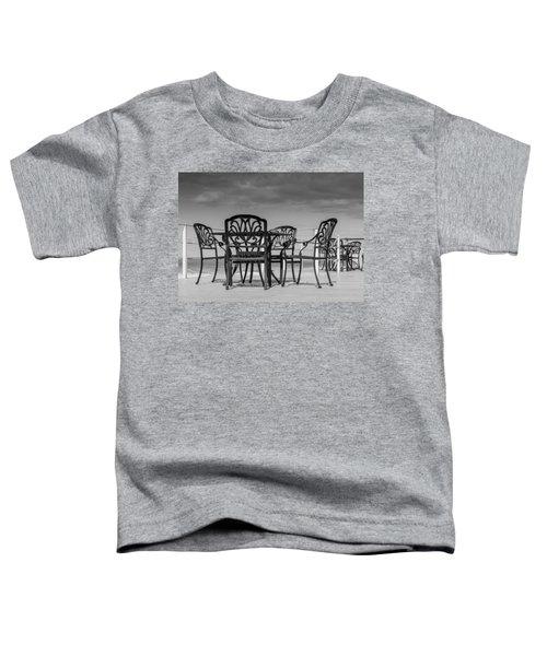 Black Cast Iron Seats Toddler T-Shirt
