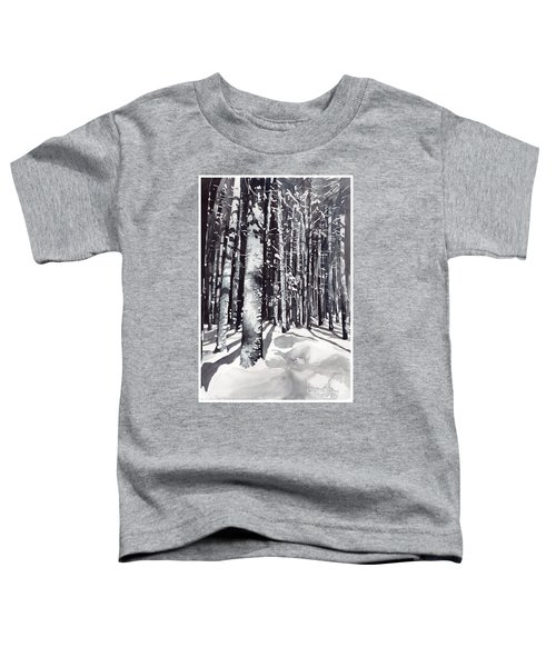 Black Forest Watercolor Toddler T-Shirt