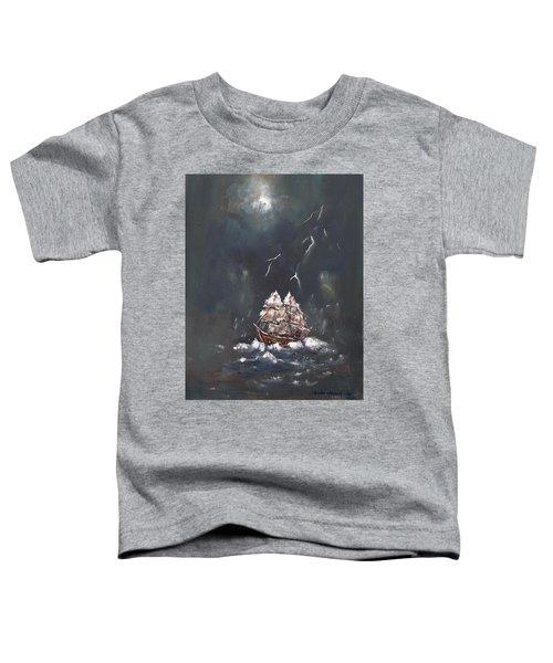 Black Storm Toddler T-Shirt