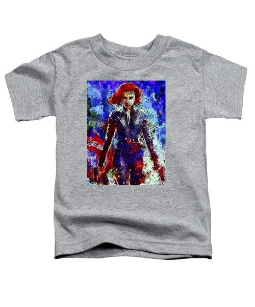 Black Widow Toddler T-Shirt